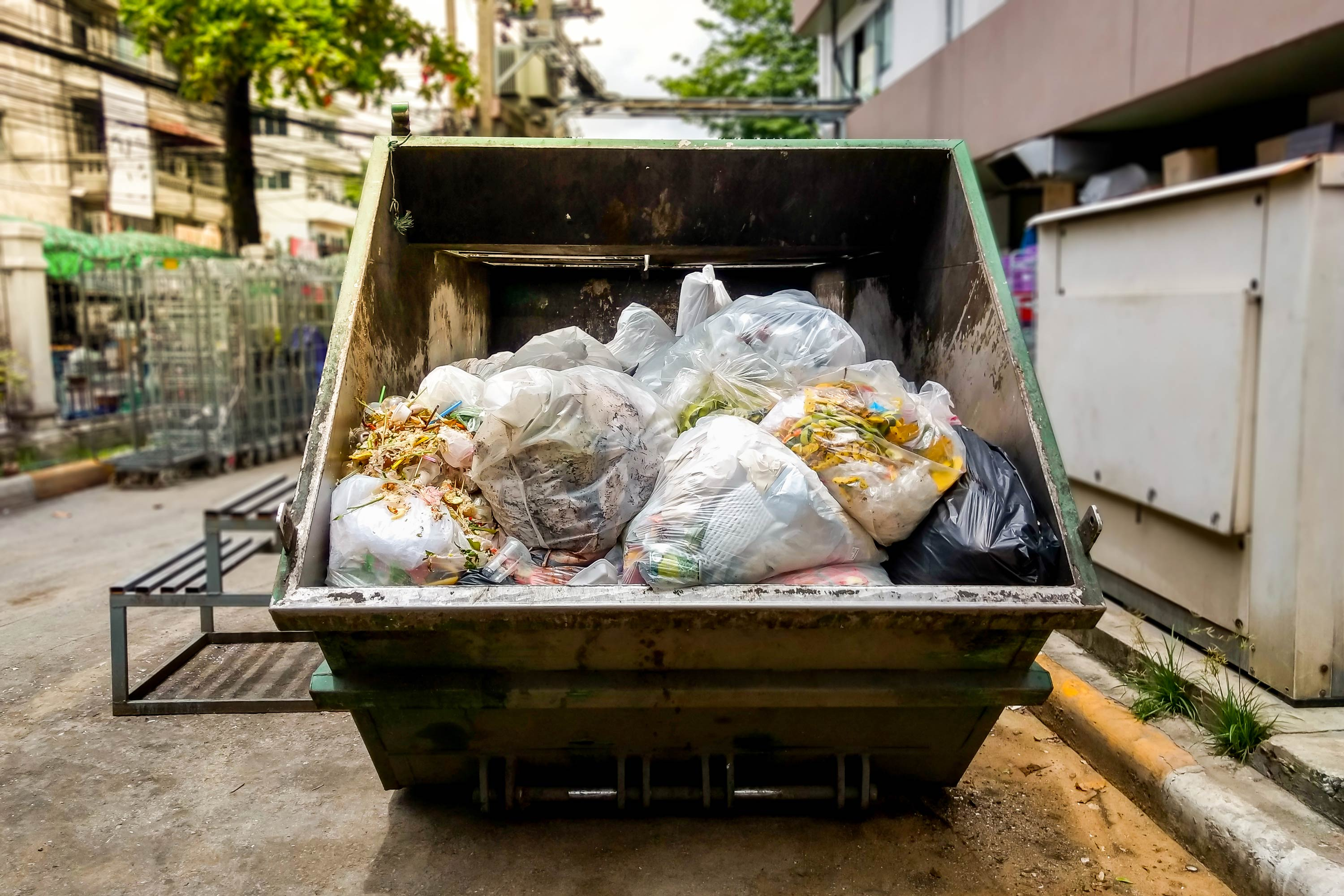 Food Waste in Garbage Truck CLEAR Center